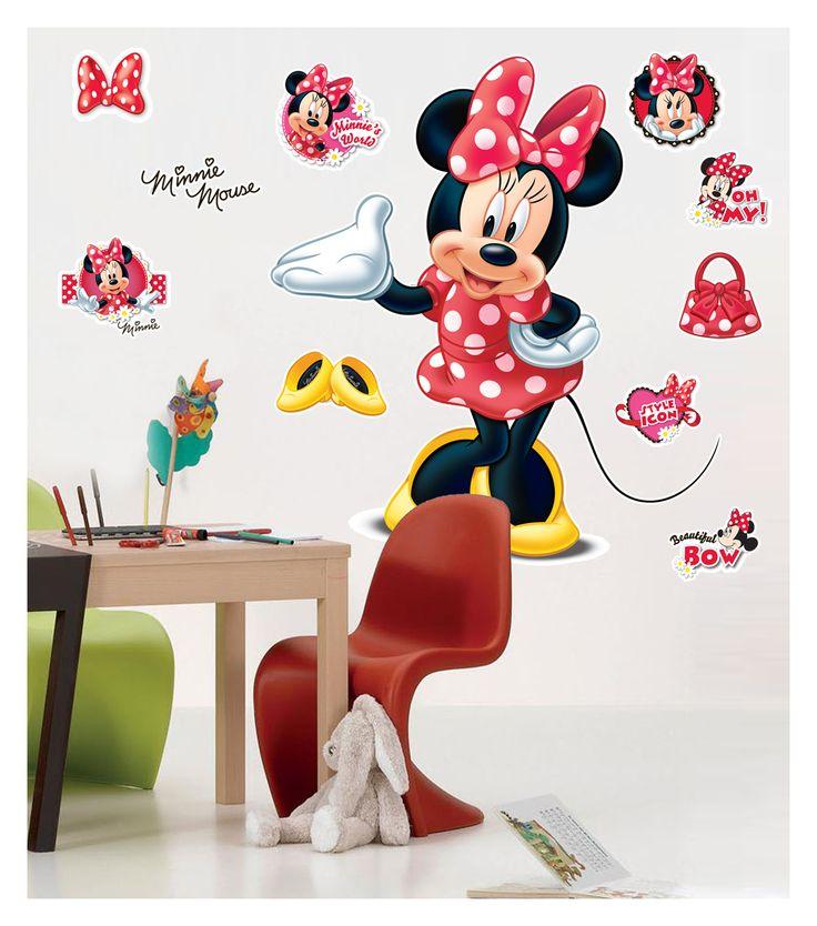 Minnie hayranları minikler için odalarına Minnie Dev Duvar stickeri.   Ürüne ulaşabileceğiniz adres: http://www.artikeldeko.com.tr/minnie-2-dev-duvar-sticker-22027  #dekor #dekorasyon #artikeldeko #evdekorasyonu #dekoratif #dekorasyonfikirleri #minnie #mickeymouse #disney #disneyclub #çocukodası #kızçocukodası #kızodası #sticker #duvarsticker