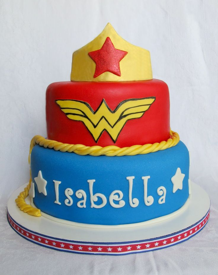 Wonder woman cake ideas