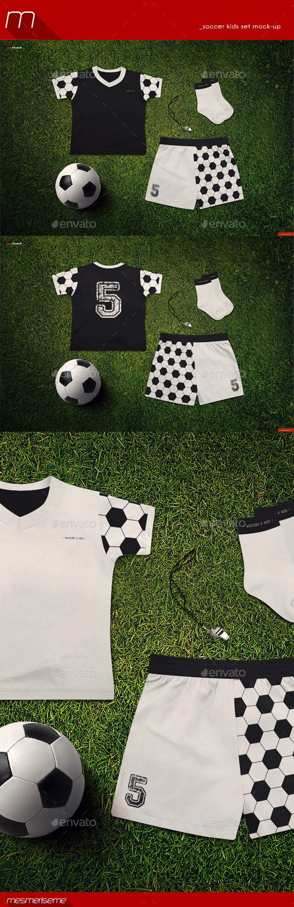 Soccer Kids Uniform Mock-up | Download: http://graphicriver.net/item/soccer-kids-uniform-mockup/9370152?ref=ksioks