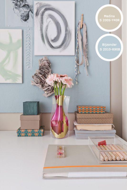 65 beste afbeeldingen over one deelt verfinspiratie op pinterest kleur activiteit tafels en - Kleur en materialen ...