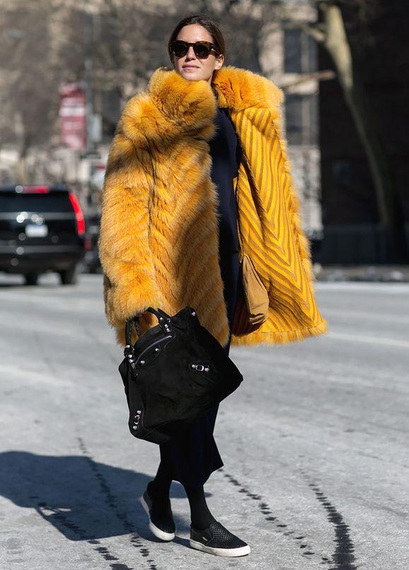 Нью-Йорк, я люблю тебя: 200 стритстайл-образов гостей Недели моды