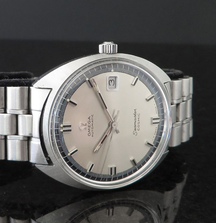 Vintage OMEGA Seamaster Cosmic Automatic In Stainless Steel Circa 1960s - http://omegaforums.net
