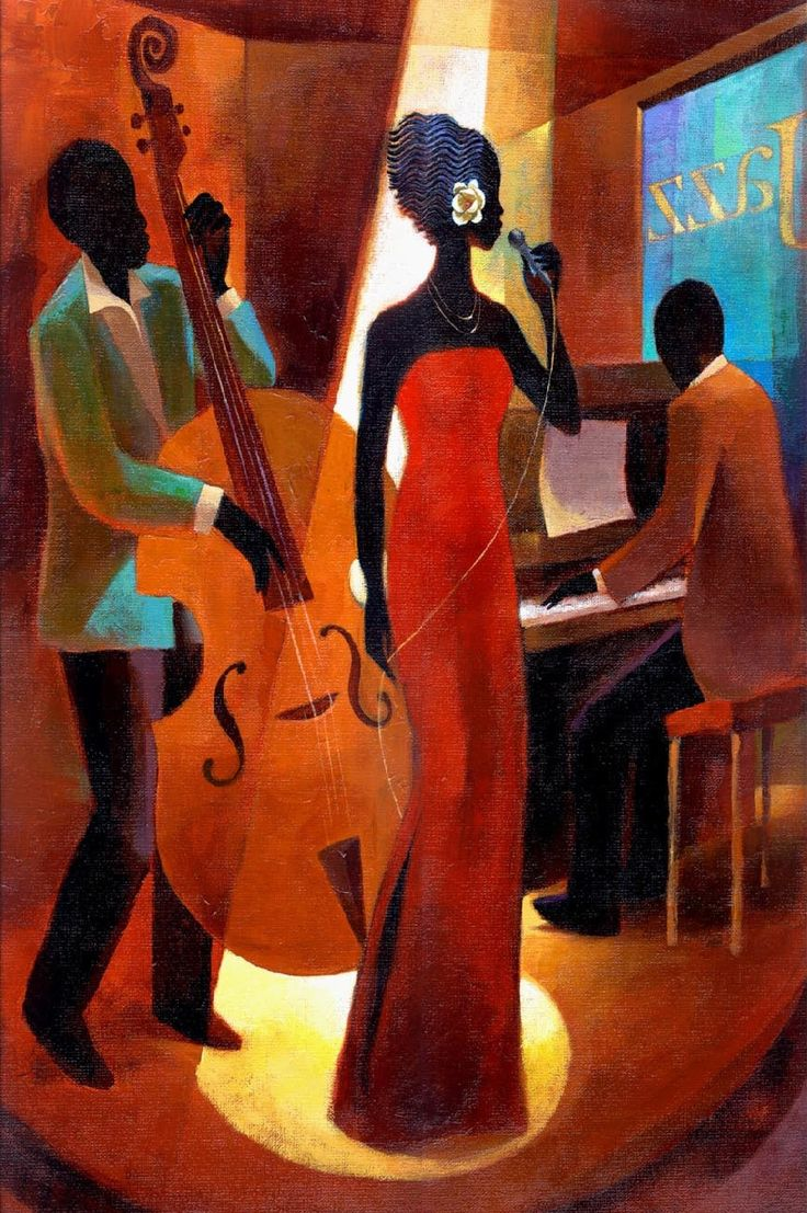 Keith Mallett, 1948 | Jazz painting | Tutt'Art@ | Pittura • Scultura • Poesia • Musica