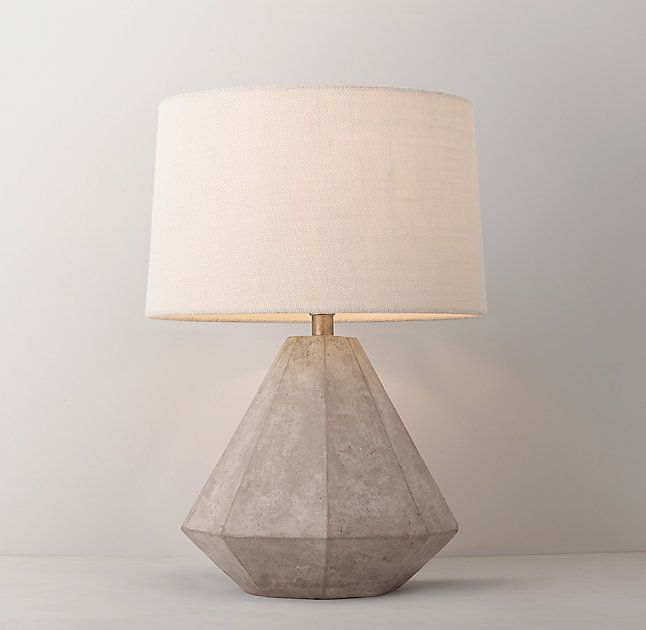 Gannon Concrete Table Lamp Base