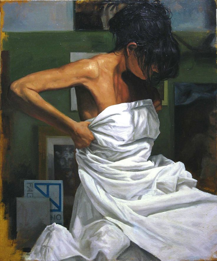 Matteo Nannini, beauty in a mess, olio su tela, 60X50, 2010