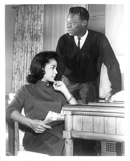 Maria Cole and Nat King Cole    Sadly Maria lost her battle with stomach Cancer on july 10 2012  RIP