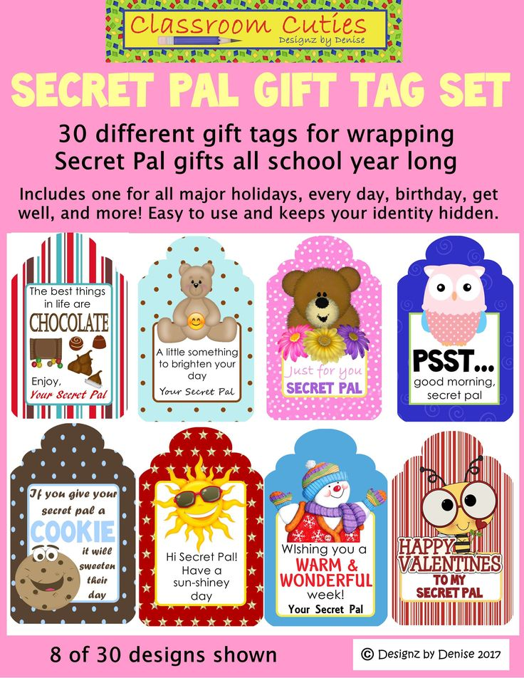 The 25+ best Secret pal gifts ideas on Pinterest | Homemade ...