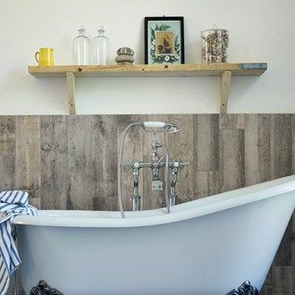 replace tiles with some rustic wood panelling for a cosy country vibe bathroom ideas ukbarn