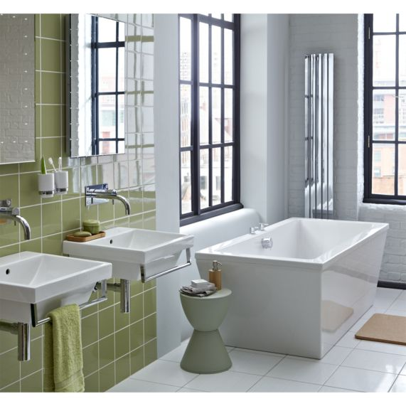 Hillingdon Olive Field 148X148 | bathstore