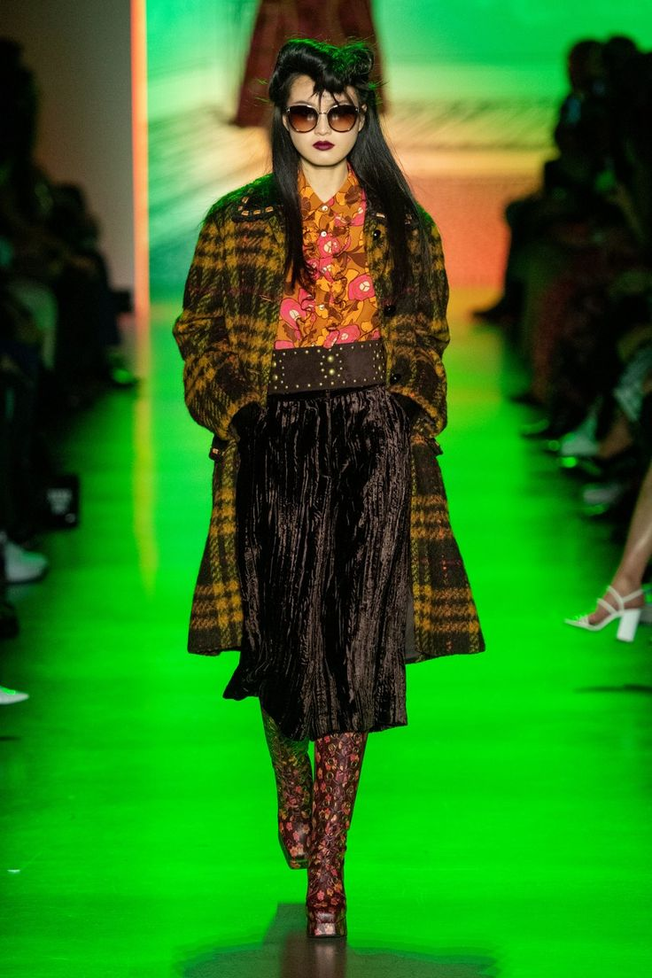Anna Sui Fall 2020 ReadytoWear Fashion Show in 2020
