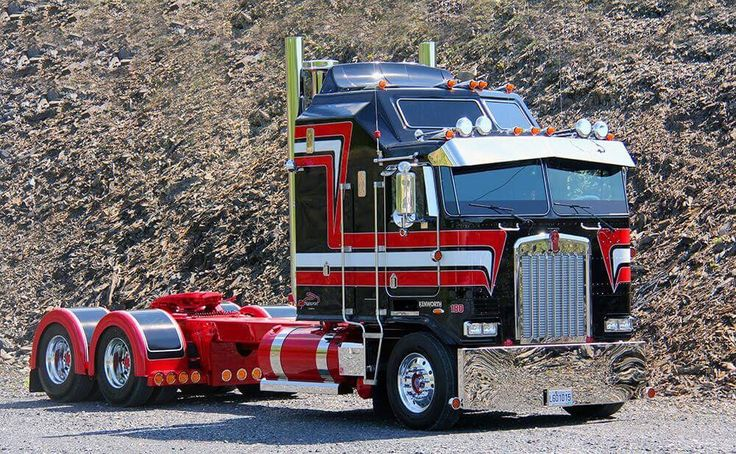 17 Best images about Kenworth Cabover on Pinterest ...