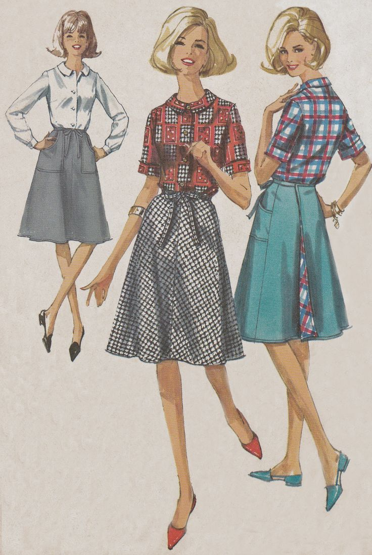 1000 Images About Vintage Sewing Pattern Illustrations On