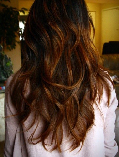 Thinking about long layers like this but don't know how having naturally curly hair would work with layers