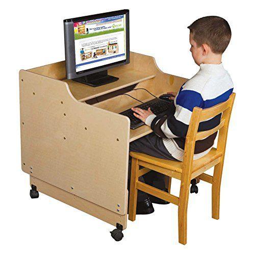 Wood Designs Contender 30 in Mobile Computer Desk * Visit the image link more details.