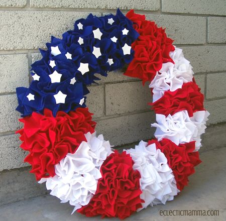 fourth of july wreaths for sale