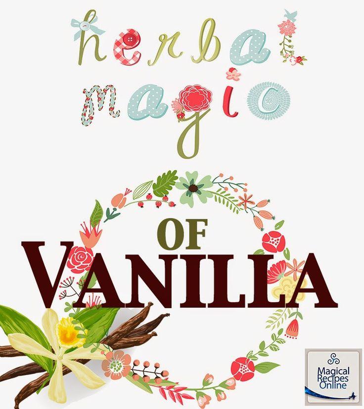 vanilla herbal magic magical properties and uses
