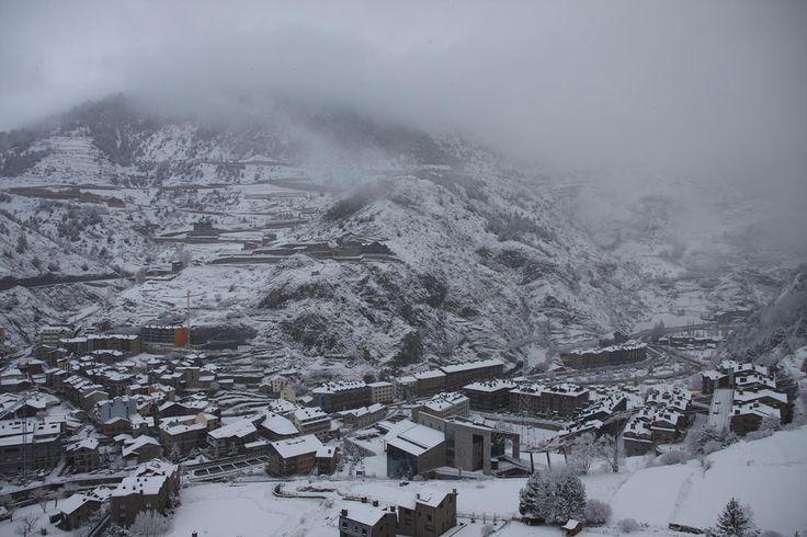 Nieve en Canillo