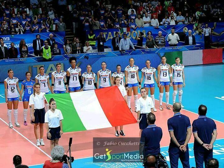 Italy volley mondiale 2014