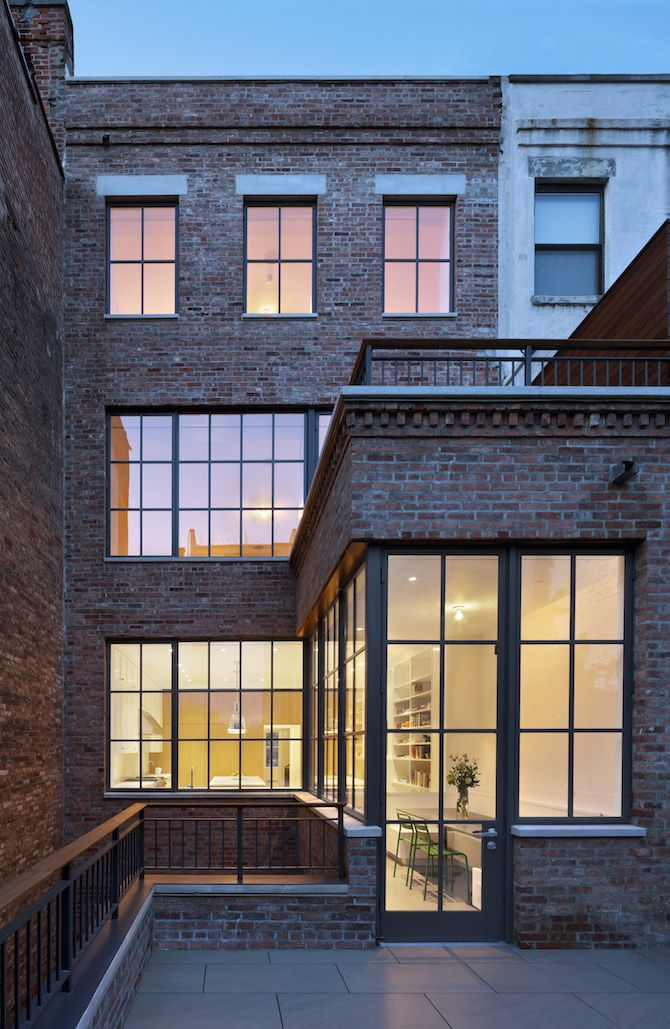 West Side Townhouse by O'Neill Rose Architects