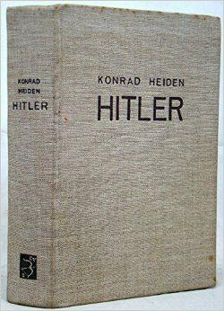 Adolf Hitler van Konrad Heiden. Niet zomaar een biografie, maar een biografie van een Jood, geschreven in het jaar 1936. Moeilijk te lezen omdat het boek geschreven is in oud-Nederlands, maar zeer bijzonder om te lezen.  Gelezen: 17-07-2015