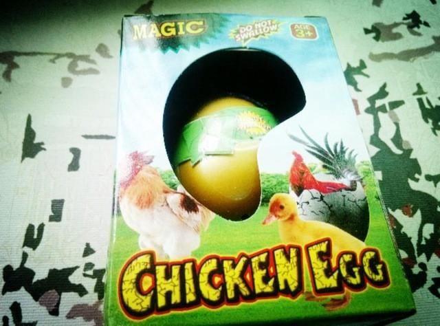 3pcs/Lot Wholesale Dinosaur Eggs Cracks Growing Eggs Educational Toys Crocodile/Penguin Magic Children Bionic Gifts 11*5.5*8cm