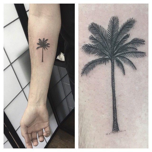 palm tree tattoo - Google-søgning