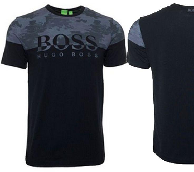HUGO BOSS Men's Tee - Black http://www.novaeboutique.com/mens-fashions/hugo-boss-mens-tee-black