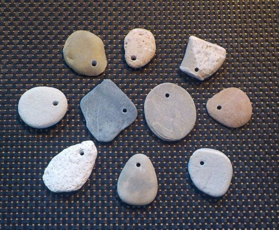 Natural Australian Drilled Beach Stones for by AllAussieOpals