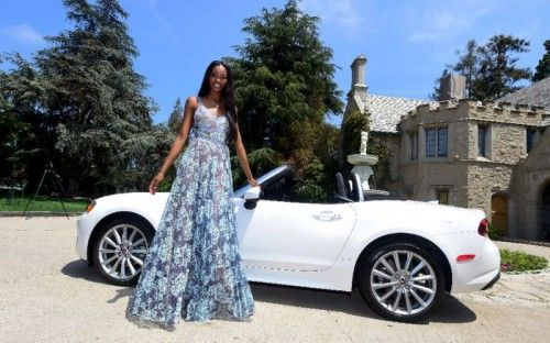 Eugena Washington first rose to fame through Tyra Bank's America's Next Top Model. She was hailed Playboy's 2016 Playmate of the Year and as a reward, she gets to take home a 2017 Fiat Spyder.