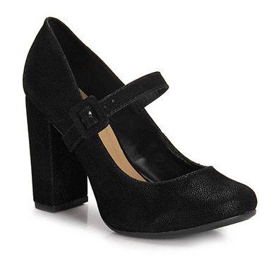 Sapato Boneca Lara 7934098  - Preto