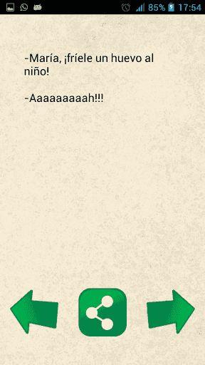 En smarthphone religion hemos seleccionado entre más de 1000 chistes, los chistes cortos más divertidos en español para que los puedas enviar por line o telegram y reírte con tus amigos.<p>Estos chistes cortos los puedes reenviar desde la aplicación de una manera muy rápida a tus amigos. Aprovecha esta app gratuita para divertirte con los chistes cortos y buenos que hemos seleccionado para ti.<p>En smarthphone religion tenemos como propósito que te diviertas. Si te ha gustado la aplicación…