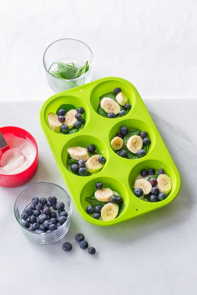 For my family, this method of assembling a muffin tin of smoothie ingredients and stashing them in the freezer has been a breakfast game-changer.