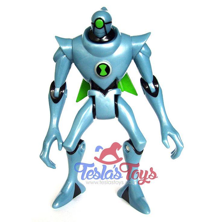 Ben 10 Ultimate Alien Action Figure - Nanomech (Loose), 11.99  #actionfigure #ben10 #ben10ultimatealien #nanomech