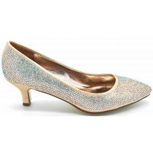 Wholesale Elegant Low Heel Pumps for Ladies - Wilfordshoes