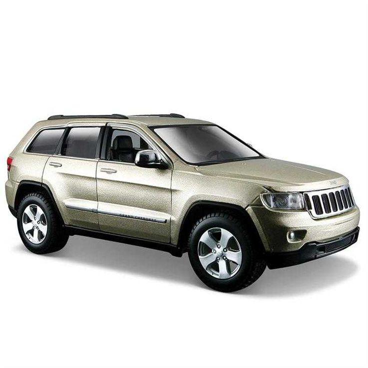 Maisto Jeep Grand Cherokee 2011 Model Araba S/E 1:24 Altın