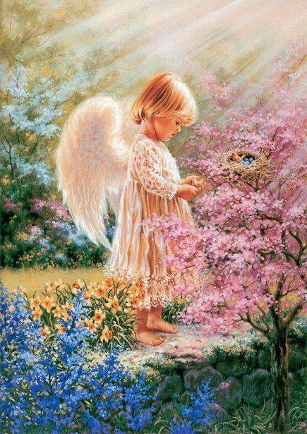 An Angels Tenderness Dona Gelsinger (American)