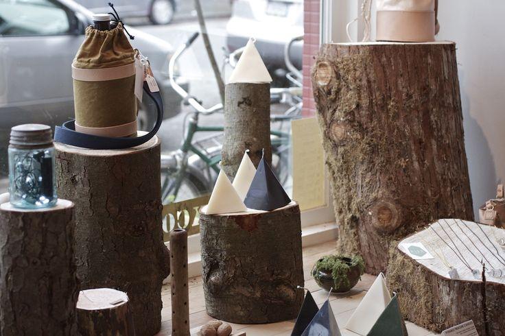 Shop window. #treestumps #shop #handcrafts