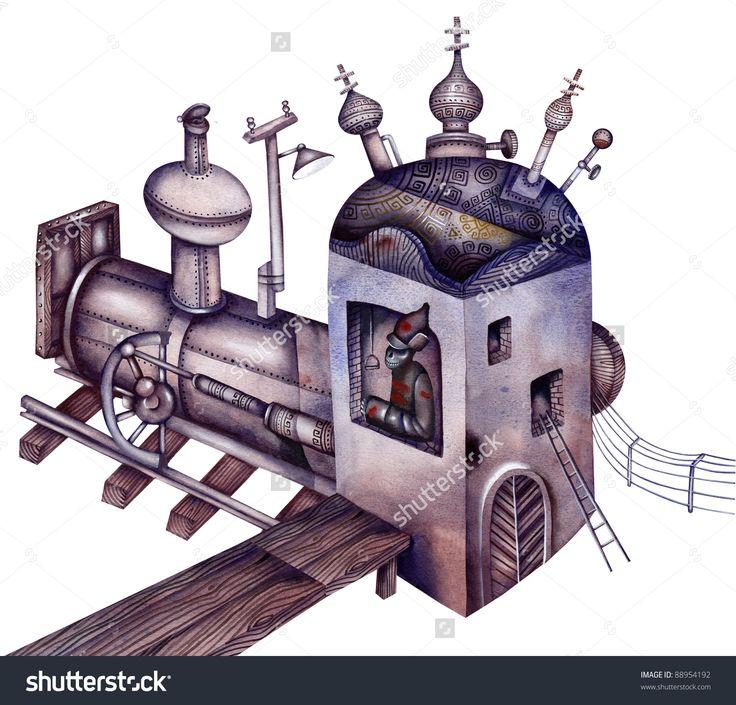 Old Locomotive by Eugene Ivanov. #eugeneivanov #gulag #genocide #solzhenitsyn #camps #russian #archipelago #prison #soviet #russia #war #freedom #stalin #putin #lenin #human_rights #gulag_archipelago #@eugene_1_ivanov