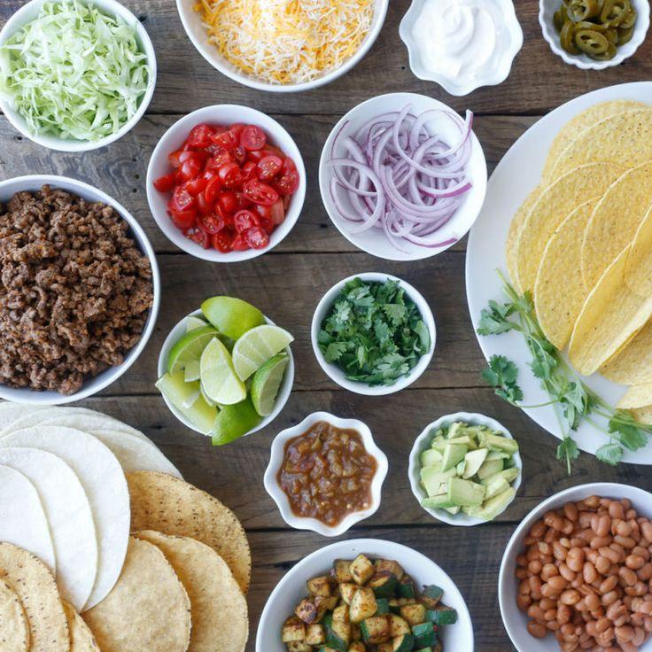 les 25 meilleures id 233 es de la cat 233 gorie bar 224 tacos buffet