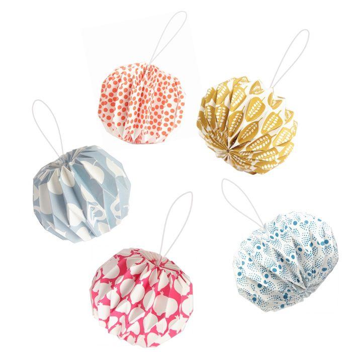 suspension origami amour objets d co d coration