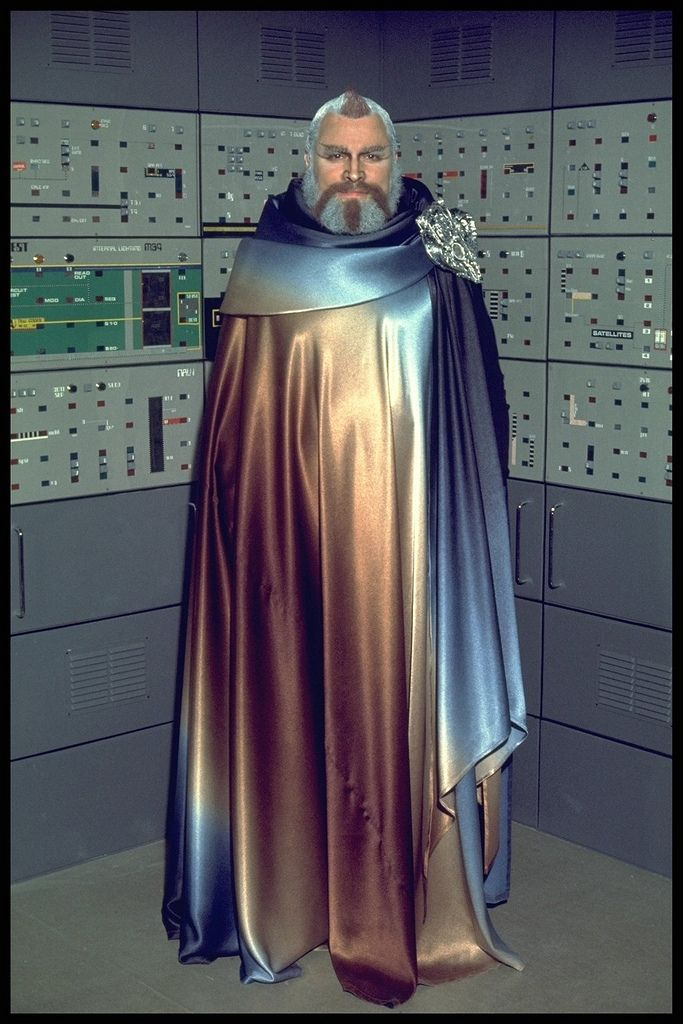 https://flic.kr/p/7FZaHA | Space:1999 Season Two: Brian Blessed as Mentor | Taken during the filming of season 2 of Space:1999. The mighty Brian Blessed appears in the first season 2 story, The Metamorph, as Mentor