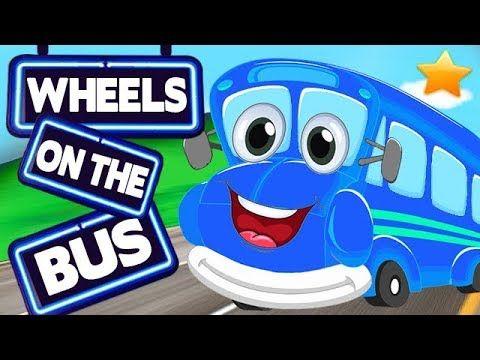 (12) Wheels On The Bus Rhymes Collection   English Rhymes   Preschool Nursery Rhymes   Cartoon Rhymes - YouTube