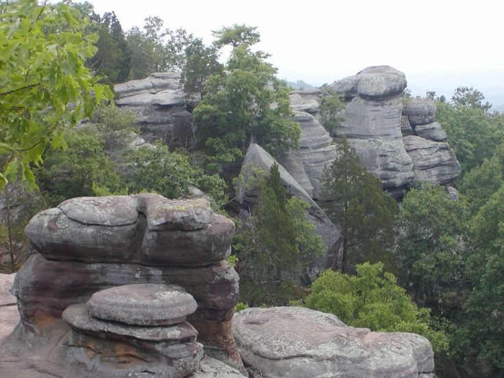 48 Best Images About Garden Of The Gods Southern Illinois On Pinterest Gardens Hiking Trails