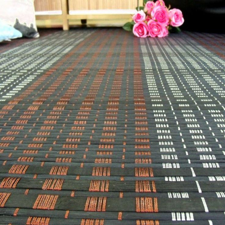 M s de 25 ideas incre bles sobre alfombra bambu en - Alfombras de bambu a medida ...