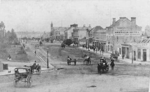 Errol St,North Melbourne in Victoria in 1868.
