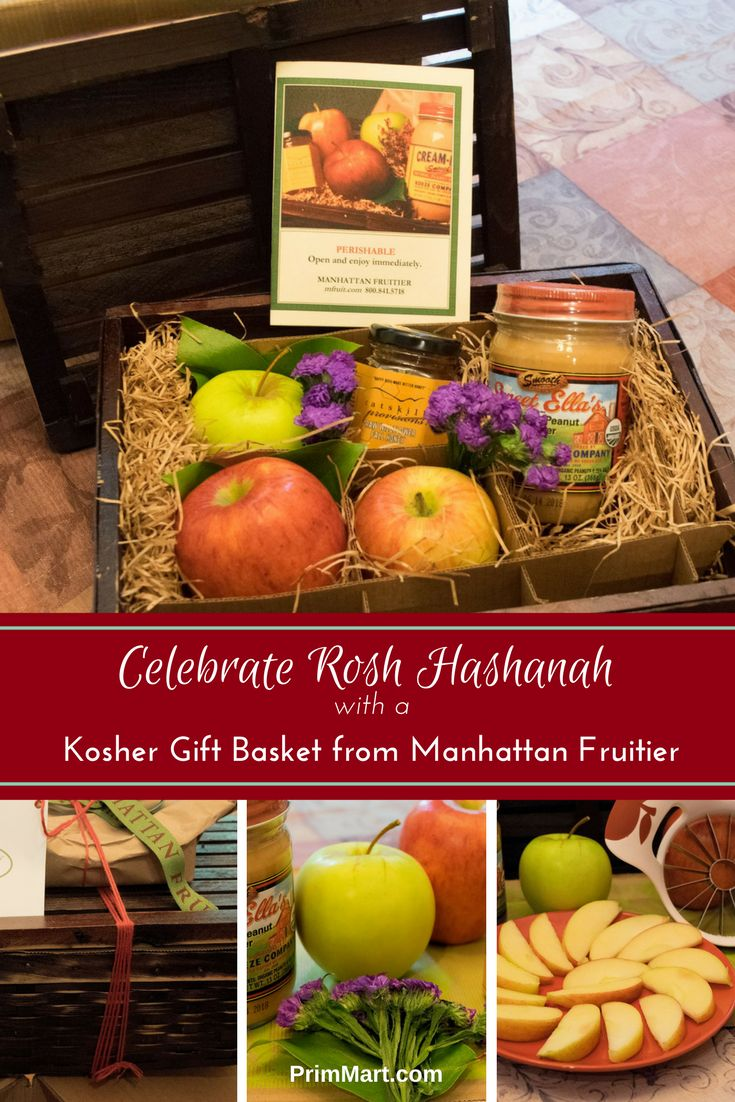 What better way to celebrate Rosh Hashanah than with a kosher gift basket from Manhattan Fruitier! Their gift baskets look and taste wonderful! The fruit is fresh. The other items were high quality and tasted so good!
