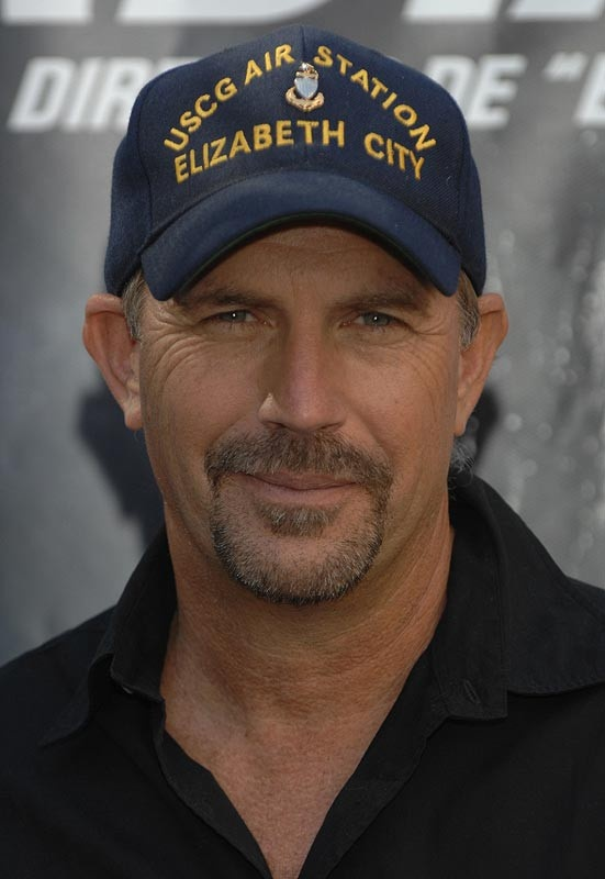 Kevin Costner from the coast guard movie the guardian