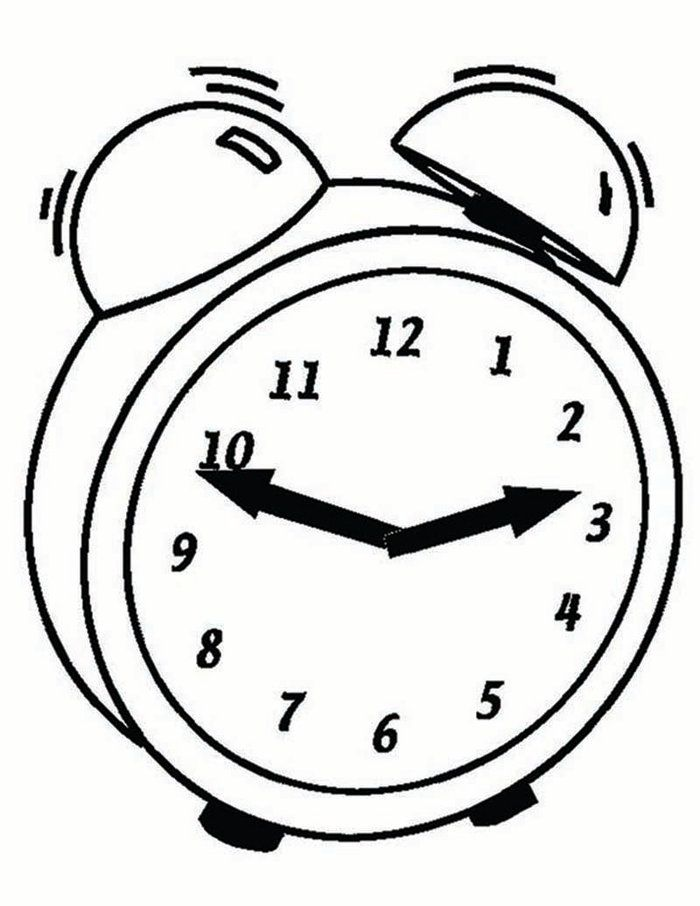 Free Clock Coloring Pages Printable Free Coloring Sheets Clock Coloring Pages Coloring Pages For Kids