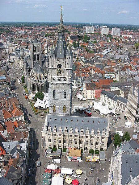 Belfry Tower, Gent, Flanders Region, Belgium