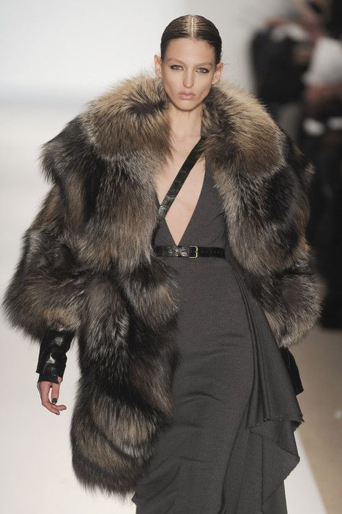 game-of-style:  Ygritte - Dennis Basso fall 2010
